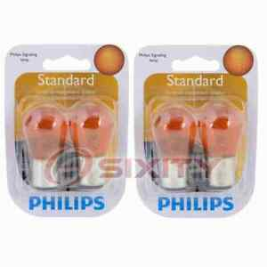 2 pc Philips Front Side Marker Light Bulbs for Scion xB 2004-2006 Electrical qr