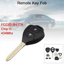Remote Key Fob 433MHz w G Chip Fit for Toyota Hilux /Yaris 2009-2015, P/N: B41TA