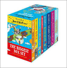 WORLD OF DAVID WALLIAMS THE BIGGEST BOX SET	9780008237066