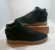 Adidas Mens Tubular Invader Strap Basketball Style Shoes Black BB5037 Size 11
