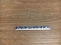 BMW Performance Aufkleber Abzeichen Logo Emblem Silber