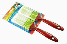 2 X  PAINTBRUSHES  50 MM Polyester  Bristles Paint Brush   *FAST from Sydney*