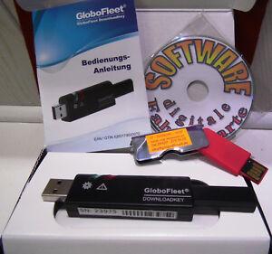 GlobFleet  Downloadkey 64 MB + Software zum Auslesen & Archivieren digit. Tacho