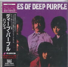 DEEP PURPLE  CD VINYL REPLICA JAPON NEUF SCELLE SHADES OF DEEP PURPLE