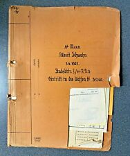 More details for ww2 waffen file complete large file 32 docs.soldier various  units 1940-44.