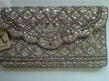Accessorize- OLIVIA EMBELLISHED ENVELOPE CLUTCH BAG( Silver Multi) (BNWT)