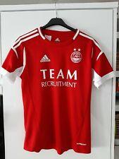 ABERDEEN FC Football Shirt Soccer Jersey Scottish Climacool Formotion Size XS