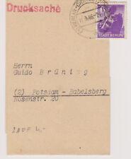 Berlin-Brandenburg, Mi. 2 EF, Streiband/Drucksache, Charlottenburg, 11.9.46