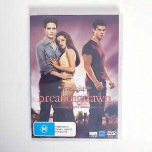The Twilight Saga Breaking Dawn Part 1 - Movie DVD Region 4 AUS Free Postage