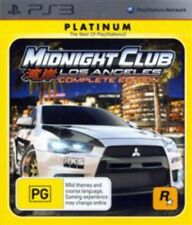 Midnight Club Los Angeles Complete Edition PlayStation 3 Game USED