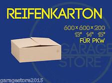 "20 Räderkarton Reifen Karton 600x600x200 Versandkartons für PKW 13 ""14"" 15 Zoll"