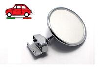 Fiat 500 F L R - Specchio Specchietto retrovisore tondo cromato