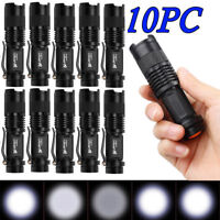 10X Ultrafire 10000 Lumens Mini Q5 Zoomable Waterproof LED Flashlight Torch Lamp