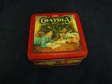 Vintage 1992 Crayola Colorful Holiday Wishes Tin