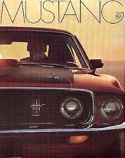 Mustang 1969 Sales Brochure 69