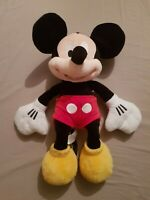WALT DISNEY Authentic Disney Store MICKEY MOUSE 20 Inch Plush Soft Cuddly Toy