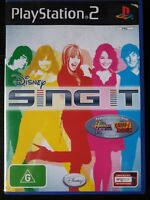 PS2 Sing It Inc Manual