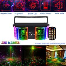 60 Pattern Projector LED Laser Stage Light Strobe KTV DJ Disco Club Party Remote