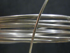 925 Solid STERLING Silver OVAL Wire 1.5mm x 1mm  1 FOOT 100% RECYCLED Ring Band