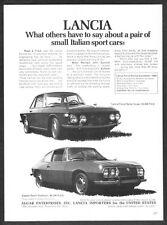 "1970 Lancia Fulvia Coupe Zagato Fastback photo ""What Others Say"" promo print ad"