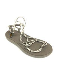Teva Women's Voya Infinity Stripe Birch / Brindle Sandals Mush Insole 1106866
