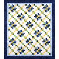 Kitty Kitty quilt pattern - cozy quilt design