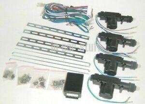 12 Volt Universal 4 Door Central Locking Kit 12V Brand New
