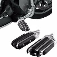 Rear Passenger Foot Pegs Rest Pedal Pads Footpegs For Harley Davidson Motorcycle
