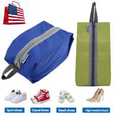 Portable Waterproof Travel Shoe Bag Zip View Window Pouch Storage Organizer Case