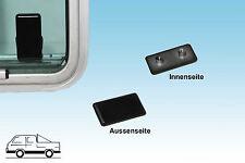 VW Bus T3  T2 und LT Halteplatte  für Verschluß Schiebefenster