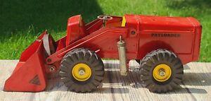 Vintage 50s Nylint Toys Payloader Pressed Steel Front End Loader Hough 18 inch