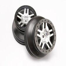 Traxxas 6872 SCT Split-Spoke Wheels Chrome Slash Slayer Ford HPI Blitz (2)