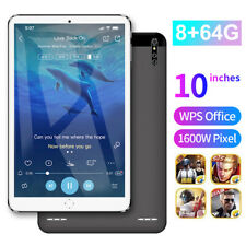 "10"" Ultra-thin 4G 8+64G Tablet PC Android 9.1 WI-FI Dual SIM Triple Camera"