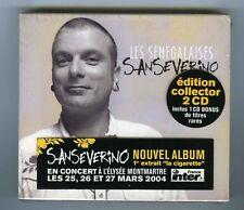2 CDs (NEUF) SANSEVERINO LES SENEGALAISES (EDITION COLLECTOR 2 CD)