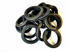 """Quantity of 18 Rubber Grommets 1-3/4"""" Inside Diameter- Fits 2"""" Wall Panel Holes"""