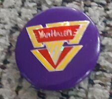 Van Halen band Vintage 1984 Pin Button Made In England prism David Lee Roth Foil