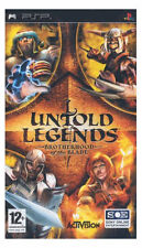 Sony PSP UNTOLD LEGENDS BROTHERHOOD OF THE BLADE Activision Video Game