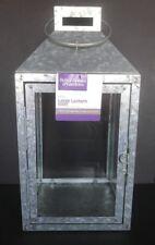 "MAINSTAYS 14"" Galvanized Metal Lantern NWT"