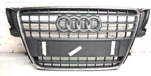 GENUINE 2012-2016 AUDI A5 8T FRONT GRILL GRILLE WITH CHROMES 8T0 853 651 E