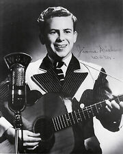 """Jimmie Dickens   8""""X10"""" B&W  Autographed Reprint"""