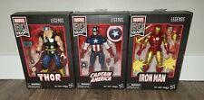 Hasbro Marvel Legends 80th Anniversary (Iron Man, Captain America, Thor)