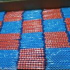 100x Bullet Darts For NERF Kids Toy Gun N-Strike Round Head Blasters #S Sky Blue