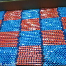 100x Bullet Darts For NERF Kids Toy Gun N-Strike Round Head Blasters #S Sky Blue