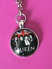 Porte clé Keychain Ø45mm Queen Rock UK Freddie Mercury