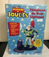 1996 Disney Toy Story Brooktel Buzz Lightyear Telephone - NIB  Box Wear