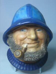 Legend Products OLD SALT Blue Version 6 Photos  Plaster Chalkware Head Plaque