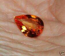 8,20 carats ct Splendide saphir jaune VVS 16,3 X 11,1 X 5,8mm