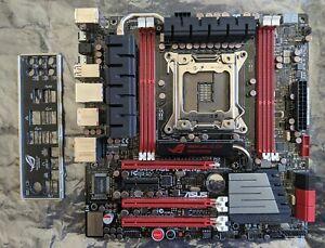 Asus Rampage IV Gene mATX Intel X79 LGA-2011 DDR3 Motherboard with I/O Shield