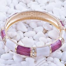 Fashion Jewelry Gold Filled multicolor bracelet Enamel bangle charms bracelet