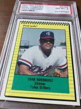 1991 Pro Cards Tulsa Drillers Ivan Rodriguez #2776 PSA 8